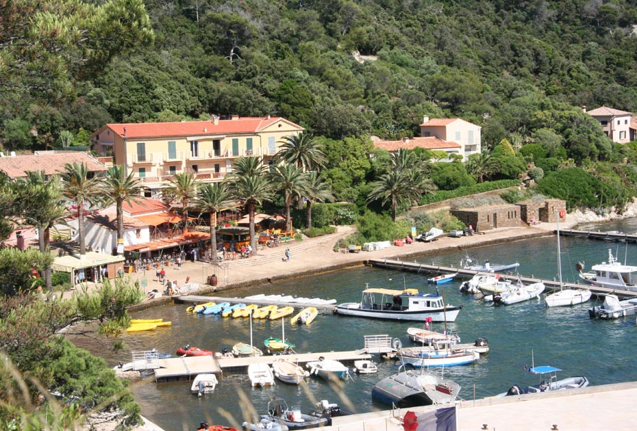 Le village de Port-Cros